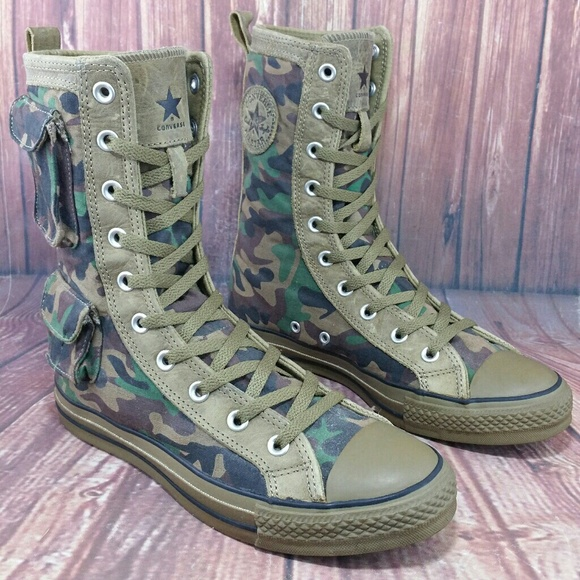 63e4e29396b3 Converse Other - CONVERSE CT All Star Military X-Hi Boots Sz 7 W 9